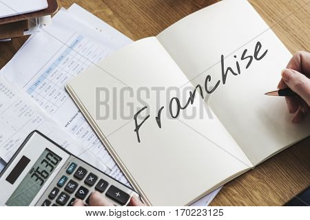 Franchise Growth Corporate Business Branch Retail Concept