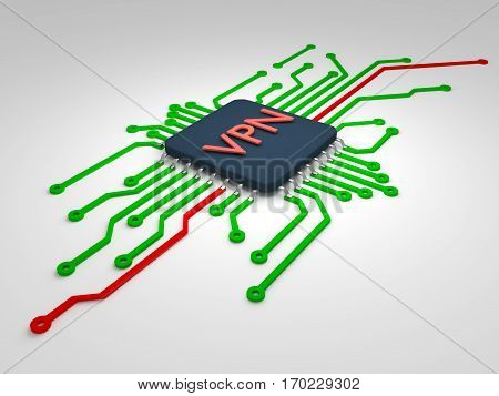 Data Protection. Chip Hardware Encryption. Printed Circuit Board.