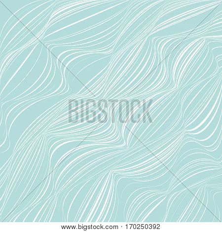 Abstract Background With A Lot Of Distorted Lines.