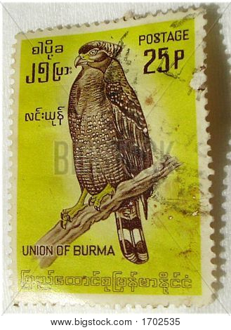 Birmania 25P
