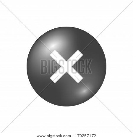 Cross Sign Element