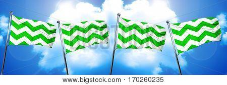 Westland flag, 3D rendering