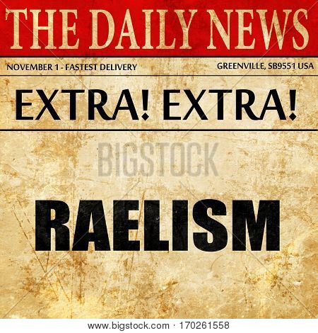 raelism, newspaper article text