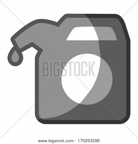 fuel gallon isolated icon vector illustration design