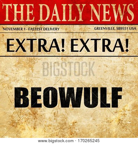 beowulf, newspaper article text