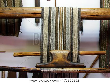 Old wooden loom Etara Bulgaria v v