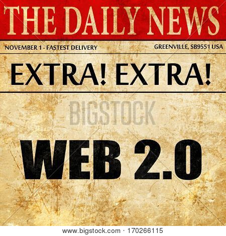 web 2.0, newspaper article text