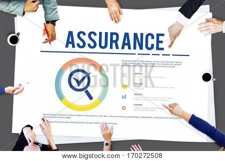 Assurance Warranty Guarantee Standard Concept