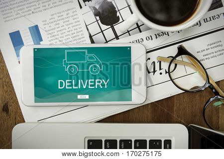 Delivery Truck Good Distribution Services
