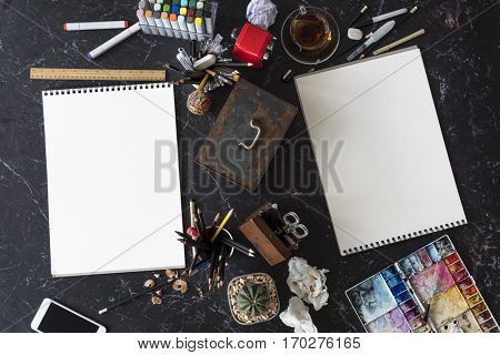 Sketchbook Blank Page Ideas Creative