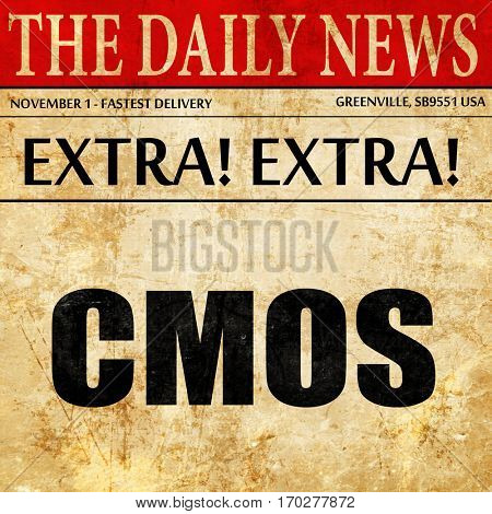 cmos, newspaper article text