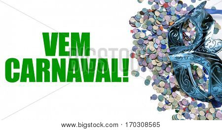Welcome Carnaval (in Portuguese)