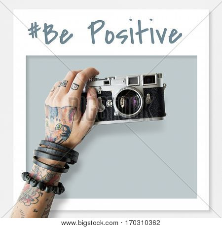 Be Yourself Positive Optimistic Brave Live Your Life