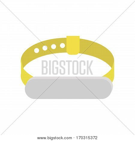 Fitness band, hand bracelet symbol sign icon on background