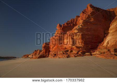 Rocky Coastline at Dampier Peninsula - Western Australia