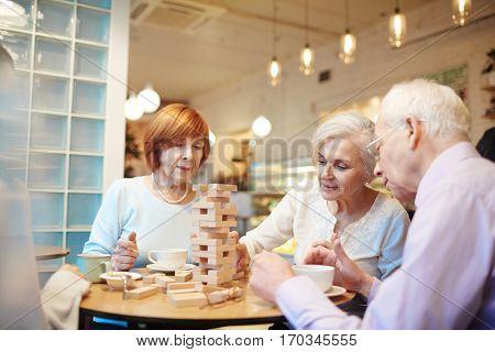 Pastime of seniors