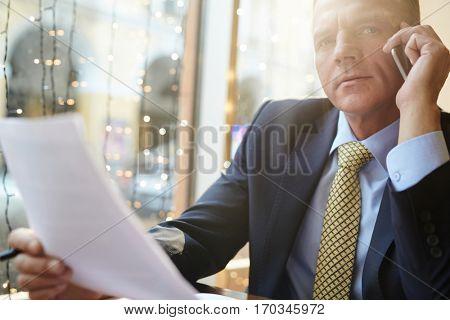 Busy broker