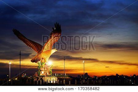 Sunset over Langkawi Island, Malaysia, Asia