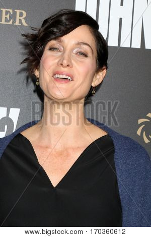 LOS ANGELES - JAN 30:  Carrie-Anne Moss at the