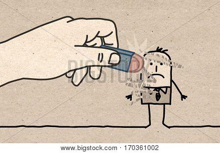 Big Hand - eraser