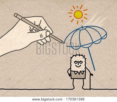 Big Hand - heat protection