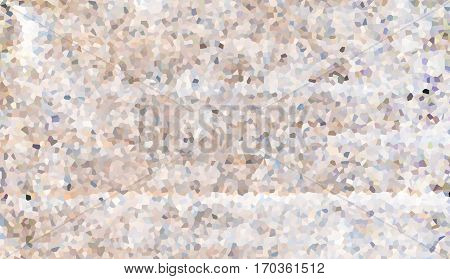 lite bright mosaic pattern rock dust fragments