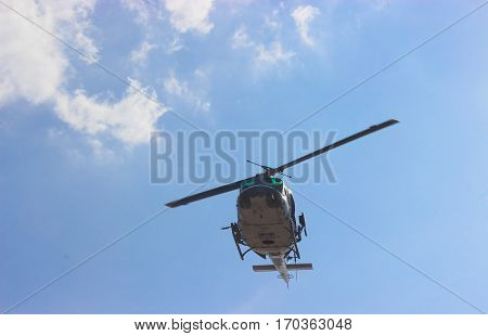 Helicopter is agency military about cosmopolitan .
