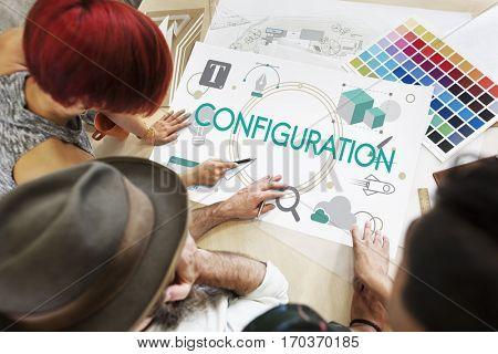 Creative Content Configuration Creative Design