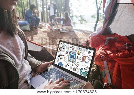 Technology Digital Evolution Innovation Internet Concept