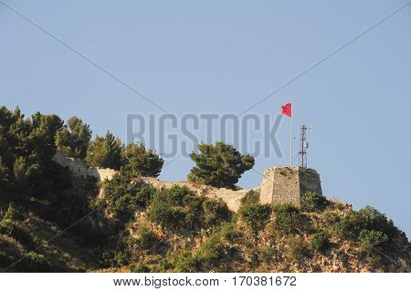 The fortless of Kala at Berat on Albania poster