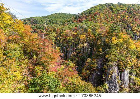 Naruko canyon in Japan