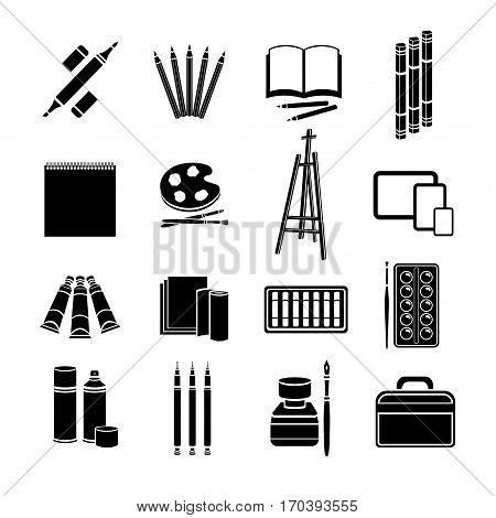 Set Flat Icons Art Vector & Photo (Free Trial) | Bigstock