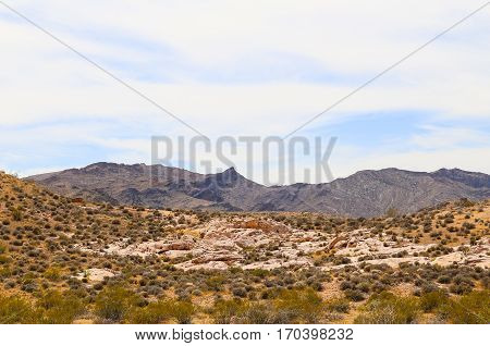 Valley of Fire Mountains in Nevada, USA