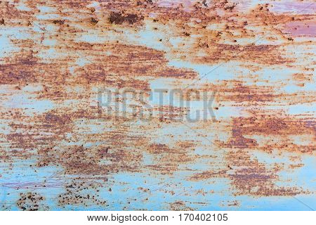Iron Rust With Corrosion Background