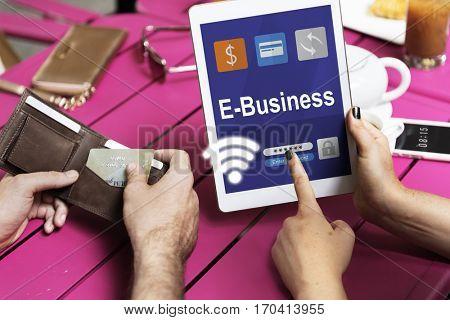 Internet Banking Transaction Financial Icon