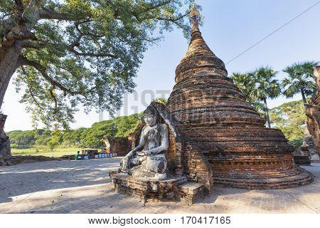 Buddha in sagaing Mandalay, Myanmar (Burma)