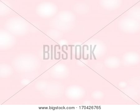 Light blur backdrop. Pale pink background. Blurred pattern