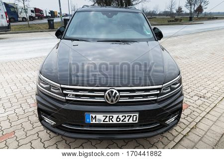 Second Generation Volkswagen Tiguan 2017