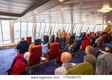 Interior Of Irish Ferries Ship