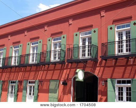 Architecture - Red Building