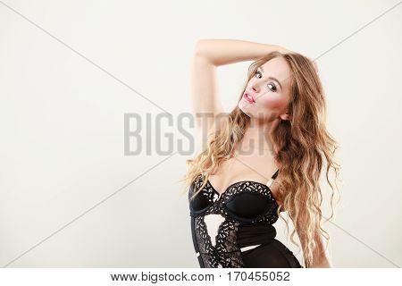 Portrait Of Sexy Lady