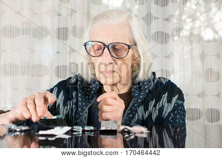 Senior Woman Finding Her Today Therapy