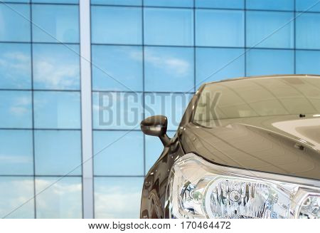 car rent services to business people on a business environment
