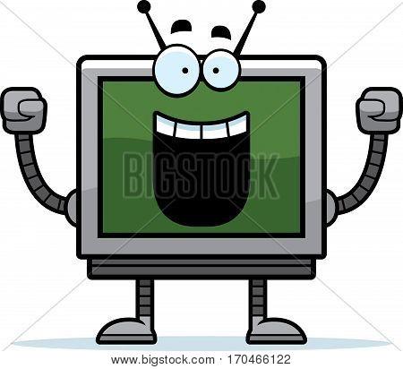 Celebrating Computer Monitor