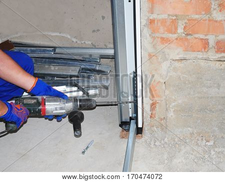 Garage Door Installation & Replacement. Install Garage Door & Garage Door Opener. How to Install a Garage Door. One of the most important parts of assembly for Garage door opener motorized device.