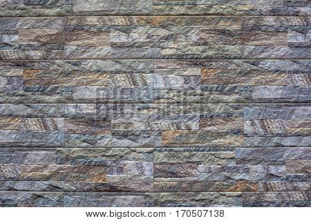 Modern stone brick wall background. Stone texture.