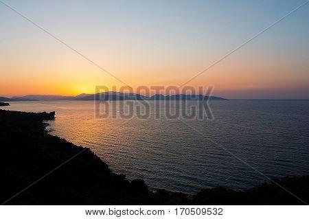 A wonderful redness Dilek Peninsula-Büyük Menderes Delta National Park