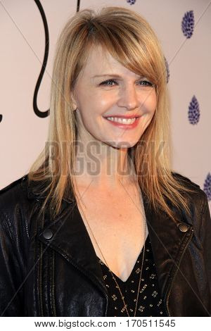 LOS ANGELES - JAN 31:  Kathryn Morris at the Tyler Ellis 5th Anniversary Party and Tyler Ellis x Petra Flannery Collection Launch at Chateau Marmont on January 31, 2017 in West Hollywood, CA