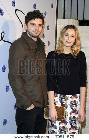LOS ANGELES - JAN 31:  Michael Fox, Laura Carmichael at the Tyler Ellis 5th Anniversary Party at Chateau Marmont on January 31, 2017 in West Hollywood, CA