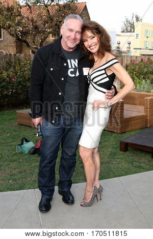 LOS ANGELES - JAN 5:  Michael Fairman, Susan Lucci at the